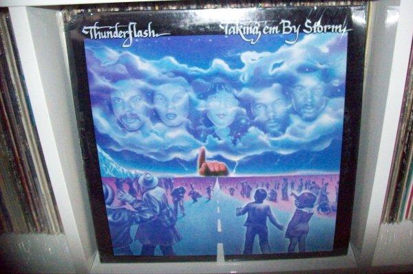 THUNDERFLASH - Reach Your High Tonight 1982 LP JAM POWER Records