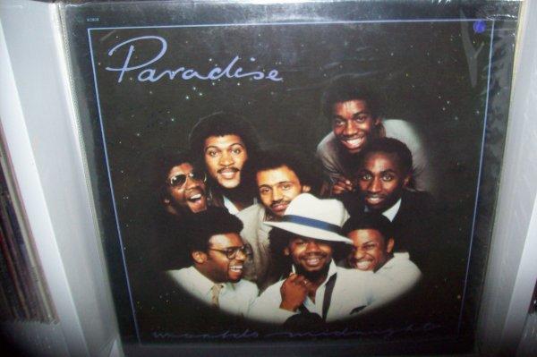PARADISE - World's Midnight 1982 LP ONYX