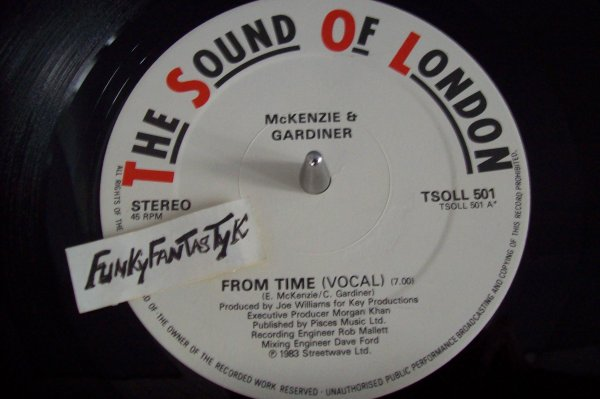 Mc KENZIE & GARDINER - From Time ( Vocal Version ) 1983 THE SOUND OF LONDON