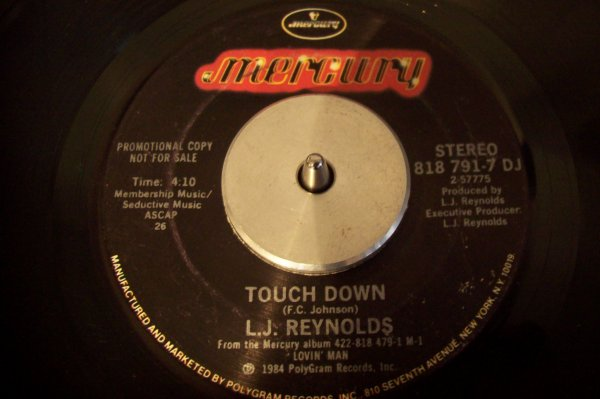 L J REYNOLDS - Touch Down 1984 45 T MERCURY
