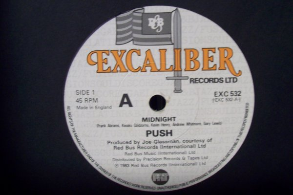 PUSH -Midnight 1983 45 T