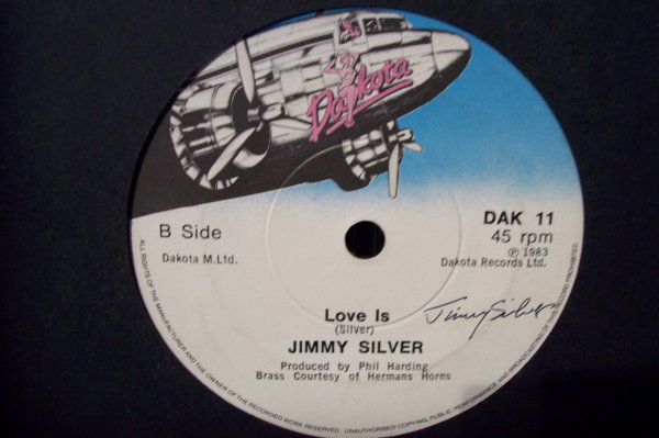 Jimmy SILVER - Love Is 1983 45 T