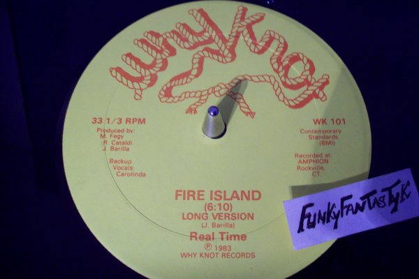 REAL TIME - Fire Island ( Long Version ) 1983 WHY KNOT Records