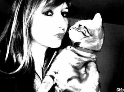moi & mon chat <3