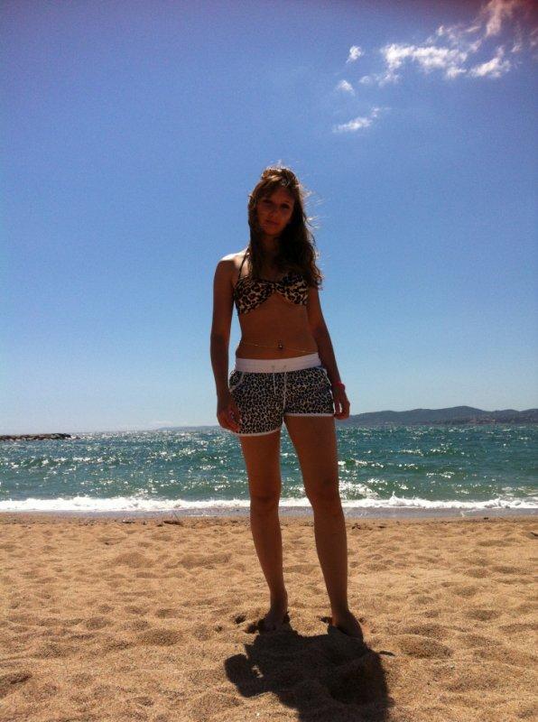 A la plage <3