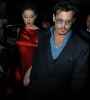 Johnny Depp et Amber Heard à Londres avec Bruce Willis et sa femme
