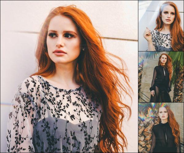 Découvrez le photoshoot pour le « NKD Magazine » de Madelaine Petsch !