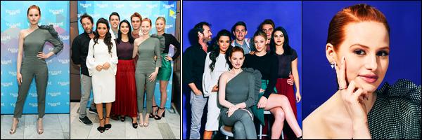 20.05.2017 ─ Madelaine Petsch était présente à l'événement «The Vulture Festival» au The Standard Highline, NYEncore une fois au côté du cast de Riverdale, la belle M. a pris la pose. Malheureusement nous avons peu de photos... Concernant sa tenue, c'est un top !
