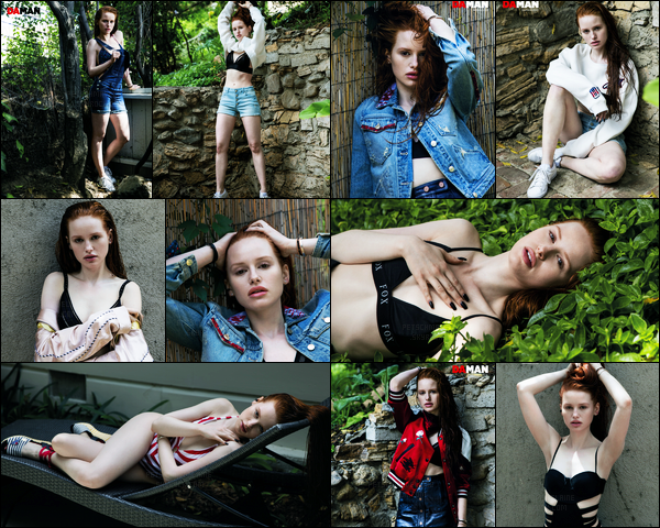 Découvrez le photoshoot pour le « DeMan Magazine » de Madelaine Petsch !