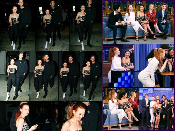 16.10.2017 ─ Madelaine Petsch a été photographiée alors qu'elle se promenait avec son copain dans Los Angeles.Le 10 Octobre dernier, le cast de Riverdale a participer à l'émission « The Tonight Show Starring Jimmy Fallon »... Concernant sa tenue est un beau top !