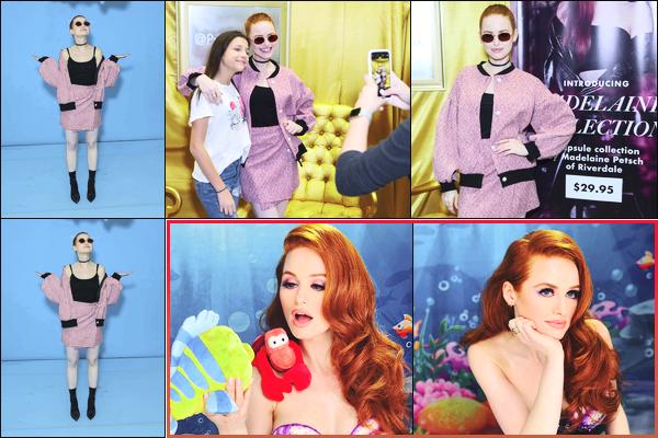 -06/04/2018- ─ Madelaine Petsch était présente pour le lancement de sa collection pour « Prive Revaux » dans New-York5 jours plus tard la belle a participer à un tutoriel pour le maquillage de la princesse de Disney « Ariel ». Je la trouve réellement magnifique, un gros top !