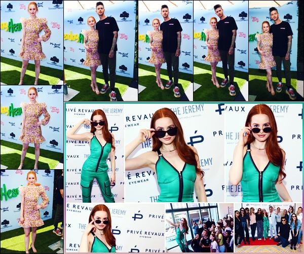 -10/06/2018- ─ Madelaine Petsch était présente au gala « Children Mending Hearts Gala », se situant, dans Los Angeles !Trois jours plus tôt, la belle Madelaine était présente à l'événement « Prive Revaux » au The Jeremy Hotel à Los Angeles. Ses tenues sont des beaux tops