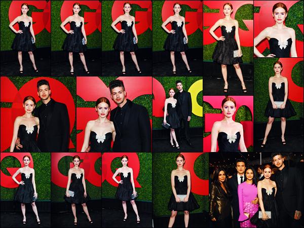 -06/12/2018- ─ Madelaine Petsch était présente lors de la cérémonie « GQ Men of the Year Awards » étant à Los Angeles.Evidemment, la belle MP était en compagnie de son petit ami, avec qui elle est pour la deuxième année consécutive présente ! Sa tenue est un beau top.