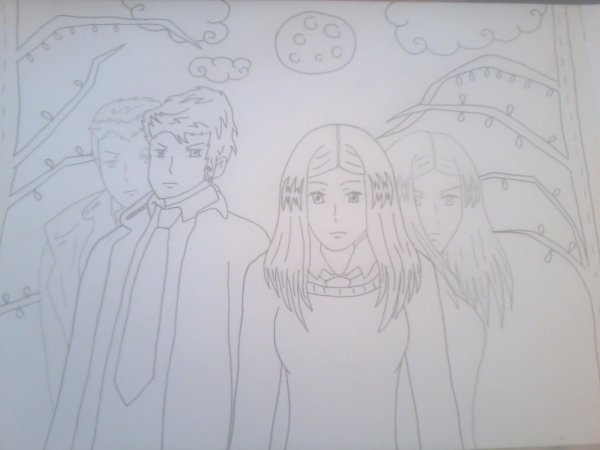 Dessin fan art Wolfblood