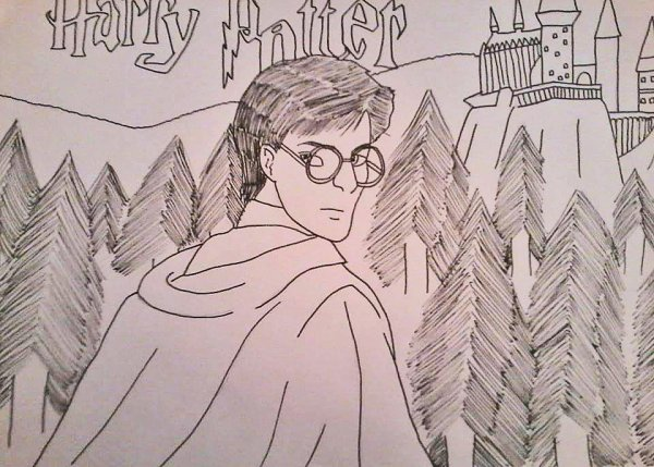 Fanart Harry Potter