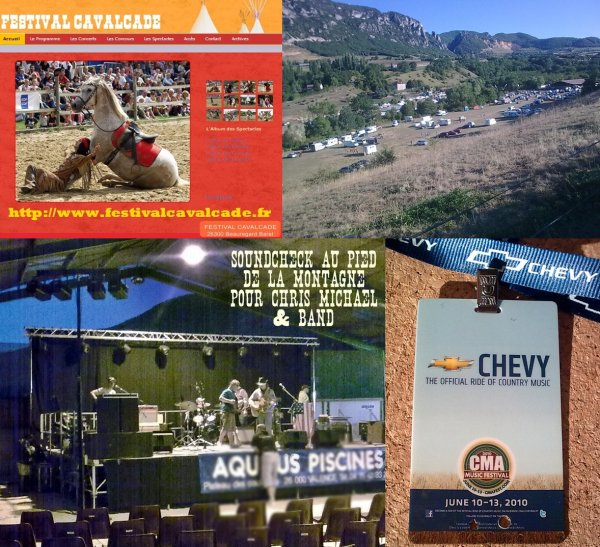 CHRIS MICHAEL AU FESTIVAL CAVALCADE : SOUNDCHECK