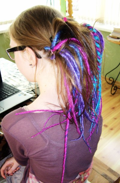 Aaaah, mes dreads synthétiques ♥