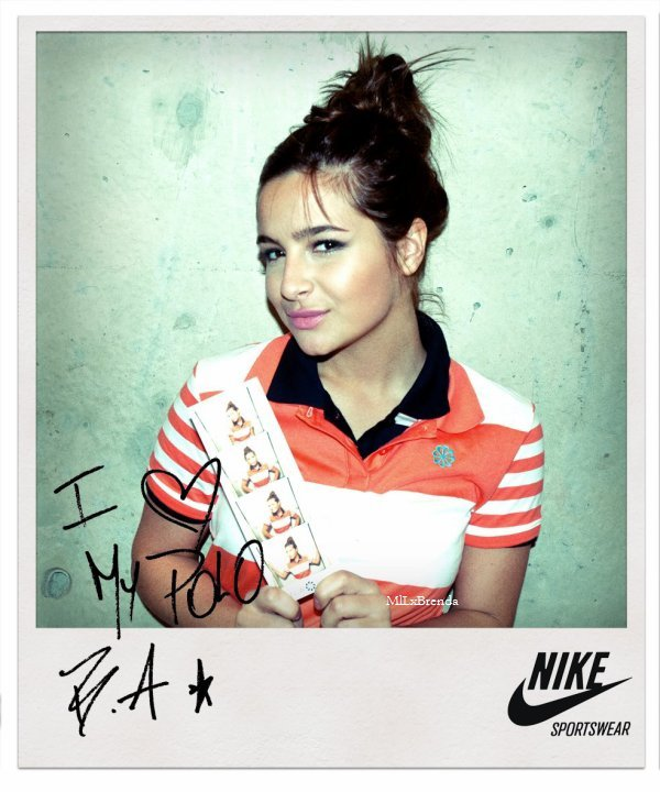 Photoshoot NIKE Brenda est l'une des égérie de Nike en Argentine, elle à donc participer à leur nouvelle compagne de publicitaire.