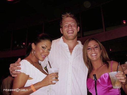 Rosa Mendes Jack Swagger & Serena