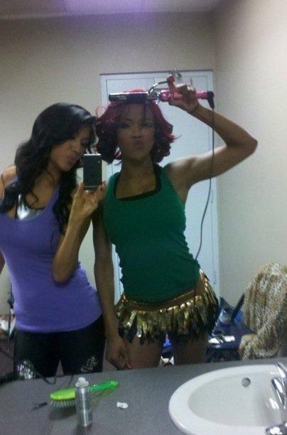 Rosa Mendes & Alicia Fox