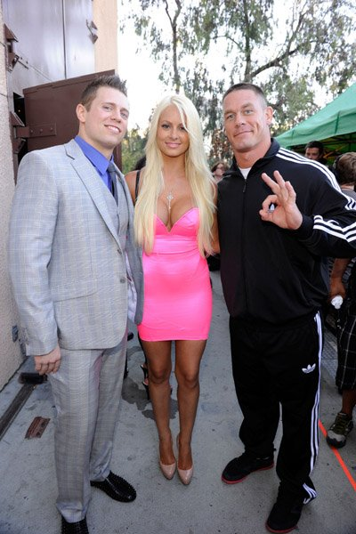 The Miz Maryse & John Cena lors des Teen Choice Awards