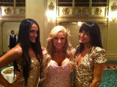 Nikki Bella Natalya & Brie Bella