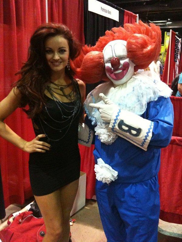 Maria & Bozo le clown