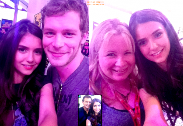Nina,Comic Con,photos perso,Ian