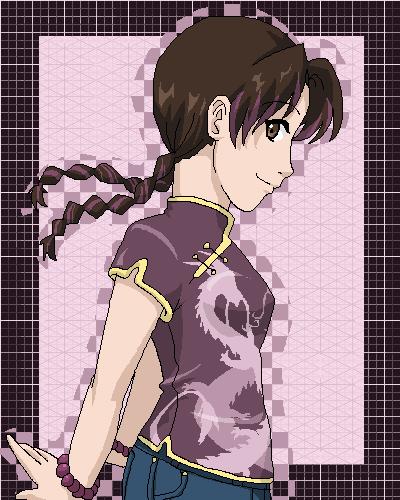 "Pourquoi ai-je choisi Tenten(du manga ""Naruto"") pour mon image de profil?"