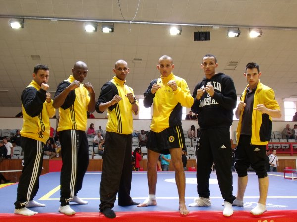 The Luan Family - Team Kung-fu Sanda - boxe Chinoise 2009