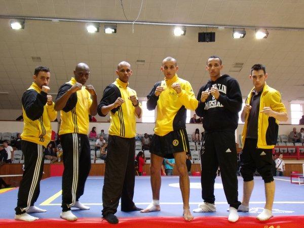 The Luan Family - Team Kung-fu Sanda - boxe Chinoise 2009
