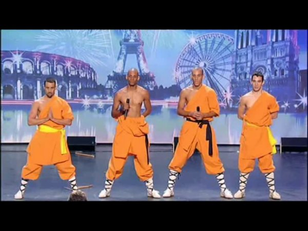 Photo de L'ECOLE LUAN SHAOLIN SUR M6  LA FRANCE A INCROYABLE TALENT