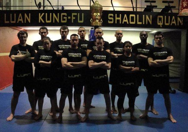 Les 12 compétiteurs de KUNG-FU SANDA qui font partie de la TEAM MOREL pour le  Championnat du Languedoc Roussillon 2011