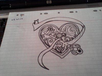 Coeur Clée
