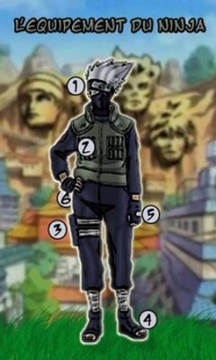 L'equipement ninja