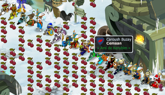 Guerre des cerise!