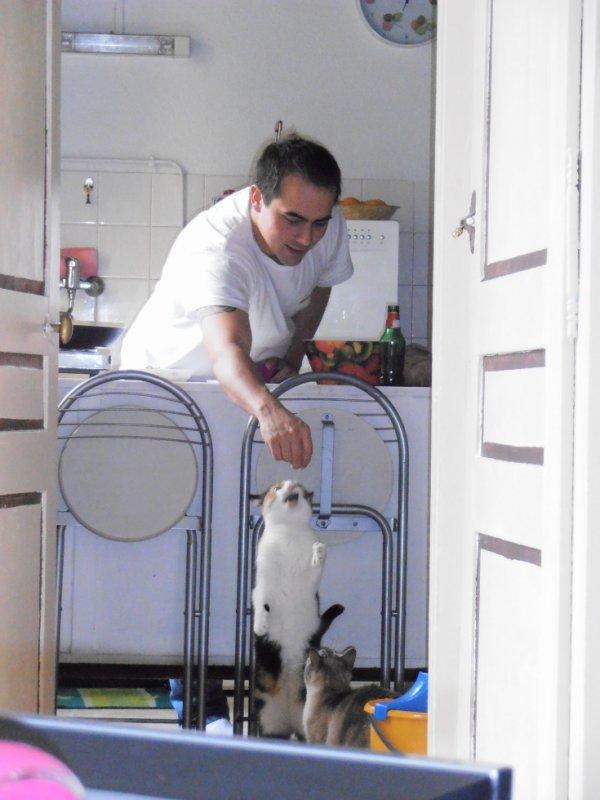 Frimousse et Papa