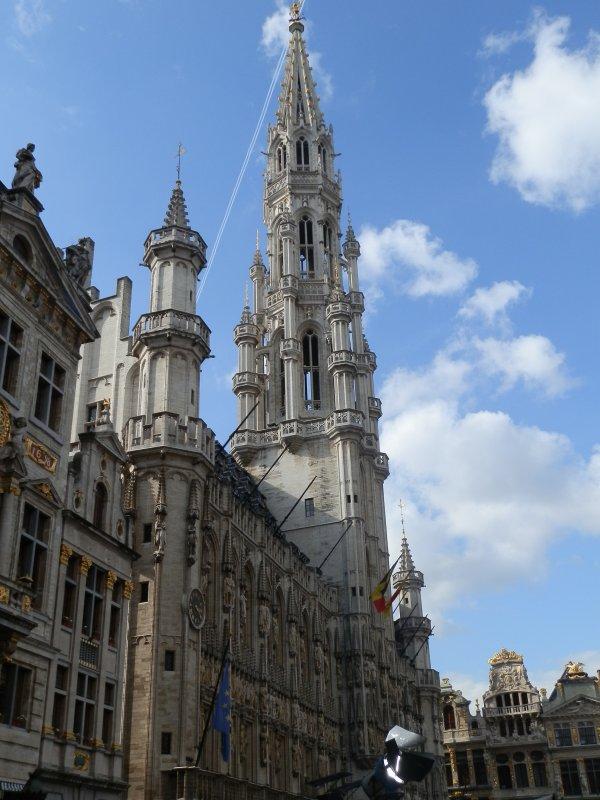 Les magnifiques Monument de Bruxelle