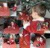 Voilà le Pere Noel!!!!! Il est plus petit que je pensé :/ mais plus mignon aussi XD