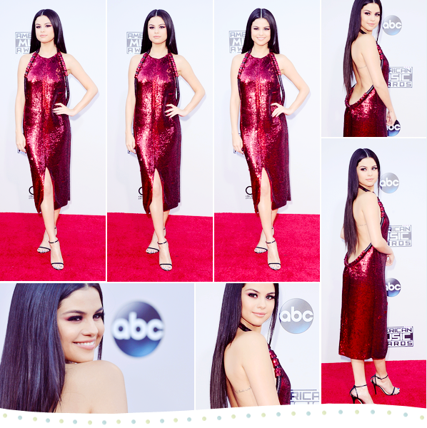 Selgomes American Music Awards 22nd of november of 2015 | Los Angeles  Selgomes