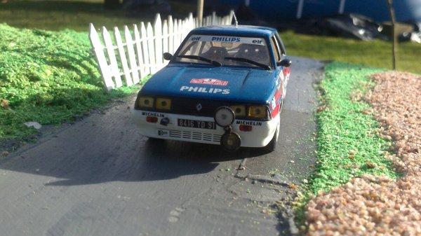 Renault 11 trubo rallye