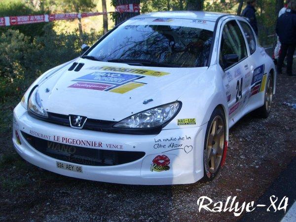 Rallye de Sarrians 2007 - Abandon Viano