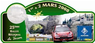 Rallye de Vaison 2008