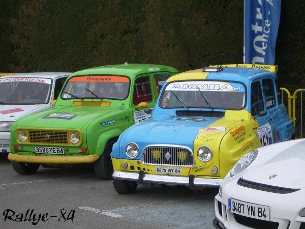 Rallye de Vaison 2008 - Renault 4L