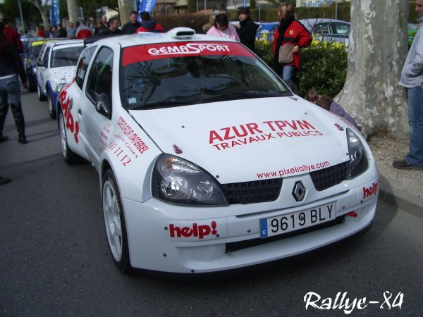 Rallye de Vaison 2008 - Casciani/Clio Rs