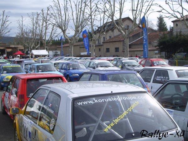 Rallye de Vaison 2008 - Parc
