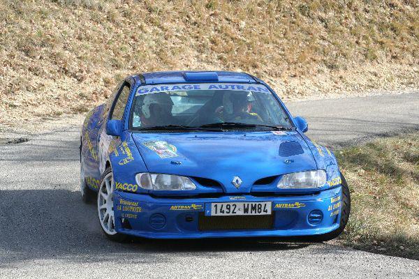Rallye de Vaison 2008 - Autran/Mégane Maxi