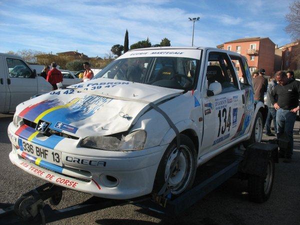 Rallye de Vaison 2008 - Sorrentino/Pallone - Peugeot 106