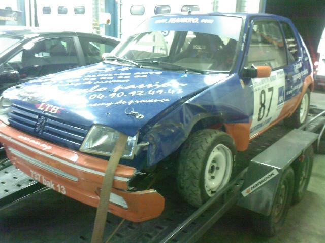 Rallye de Vaison 2008 - Jouanne/Peugeot 2o5