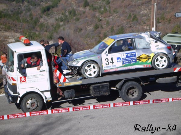 Rallye de Vaison 2008 - Autiero/Peugeot 306 Maxi